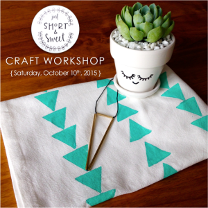 Oct 10 Workshop